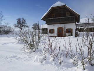 """Ferienhaus Friedrich """"Honigmond im Troadkast'n"""" Buch-Geiseldorf"""