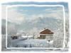 Blick von der Terrasse in die Berge