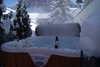 Außenwhirlpool für die Entspannung nach dem Skifahren oder Wandern