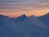 Sonnenuntergang Rothorn