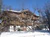 Haus Südseite im Winter