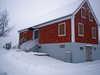Kellerstöckl von außen im Winter