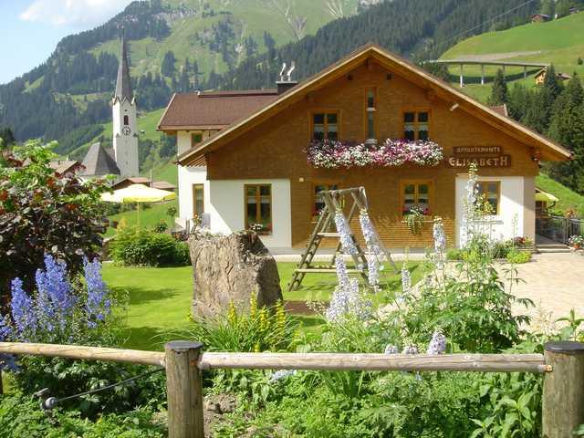 Alpenapartments Elisabeth, Ferienwohnung Arlberg Schröcken