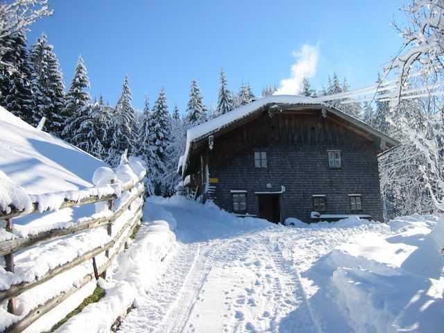 Bauernhütte Schipplbadstube