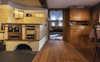 Küche mit Holzofen