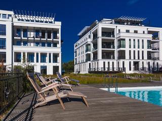 Villa Claire | Luxus-Appts. mit Meerblick, Kamin, z.T. Sauna