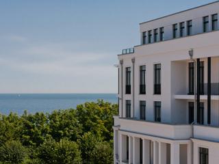 Villa Philine | Luxus-Appartements, Meerblick, Kamin, Sauna