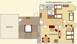 Familienappartement Hotel LEITNERBRÄU Mondsee am Mondsee