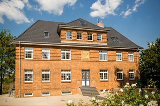 Hansequartier - Backsteinhaus am Park F 802