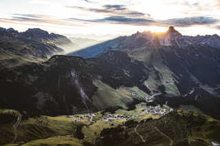 Pension Panorama Warth am Arlberg