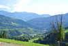 Schöner Ausblick auf die Berge und nach Kreuschlach bei Gmünd