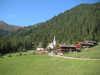"""Der Wallfahrtsort """"Maria Schnee"""" in Kalkstein auf 1.640 m, vom Haus zu Fuß ca. eine halbe Stunde."""