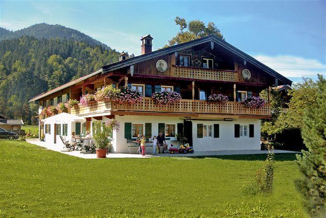 Haus Strohschneider Kreuth Oberhof Visitenkarte