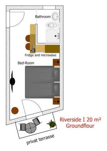 Appartement de vacances Room 5 Apartments - Riverside I (2408370), Salzburg (Stadt), Salzbourg plaine, Salzbourg, Autriche, image 22